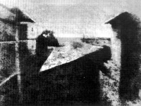 Pierwsza fotografia, 1826 r.