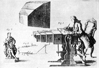 Camera obscura jako pomoc w rysunkach